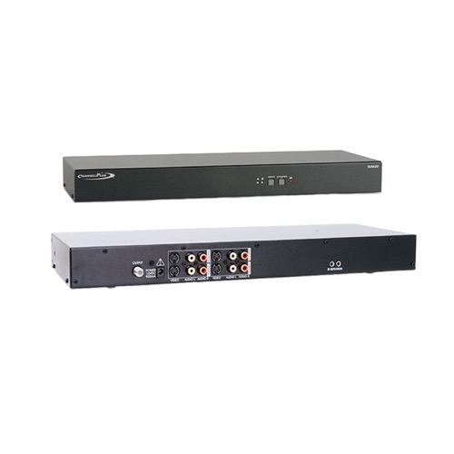 Channel Plus SVM-22 S-Video Stereo Modulator with I/R Control Full MTS Encoding 25 dB Output Signal Two Input S-Video Modulator Rack Mountable, Compatible with 12 Volt and 5 Volt IR Systems, Part # SVM22