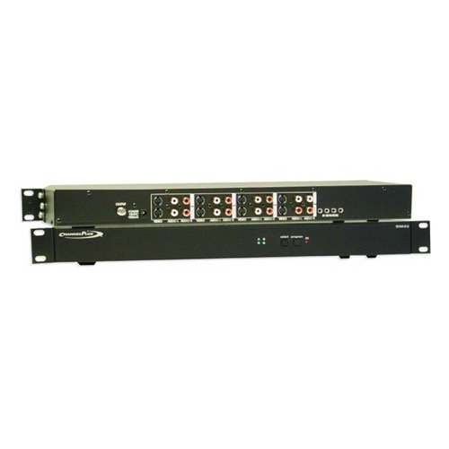 Linear SVM-24 4-Channel RF Modulator Quad S-Video Stereo with I/R Control Open House Quad Plus Four AV 25 dB Output Signal Modulator Rack Mountable, Compatible with 12 Volt and 5 Volt IR Systems, Part # SVM24