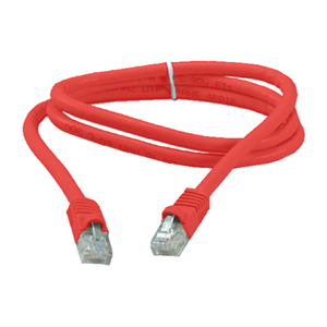 Eagle 5' FT CAT6 Patch Cord Cable Stranded Copper RJ45 Red Snagless