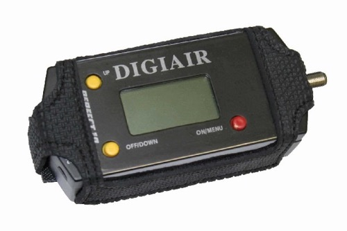 DIGIAIR PRO 2 TV Antenna Signal Meter Alignment with Digital Readout, Measure the Strength of Up To 6 Channels at One Time, Audio Squawker, Rechargeable Battery, Part # DIGIAIRPRO