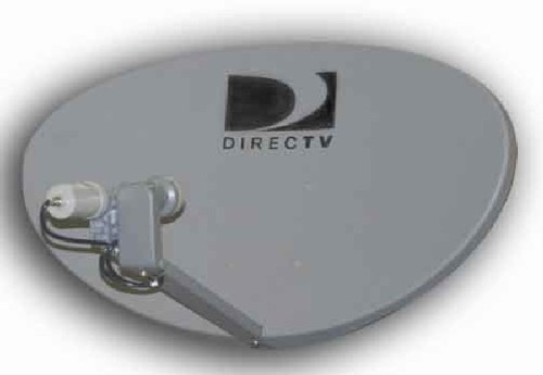 "DIRECTV DTV66EDS 36"" International Dish 95 W / 101 W Antenna Satellite FTA 36x24 Elliptical with Linear and Dual LNBFs, Digital Integrated for Simultaneous Reception, Free-to-Air, Part # DTV-66EDS"