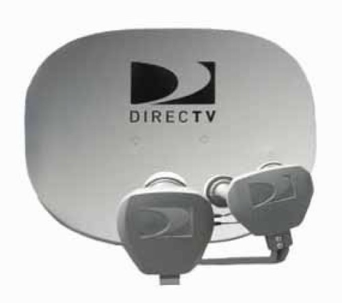 DIRECTV AT9 Satellite Dish Andrews Antenna Signal and MPEG-4 Compression 5 LNB Ka / Ku Elliptical Multi-Sat for HDTV Local TV Programming with Built-In Multi-Switch, Feed Arm and Mounting Assembly, Integrated Ka / Ku LNBs, Part # AT-9