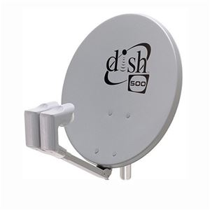 "Winegard DS5005 20"" Inch Dish 500 Satellite Dish with Twin LNB Antenna Network Dish Pro Twin LNB,  DBS DSS Outdoor TV Aerial Reflector with Arm, FTA Signal Receiver, Part # DS-5005, Dish500"