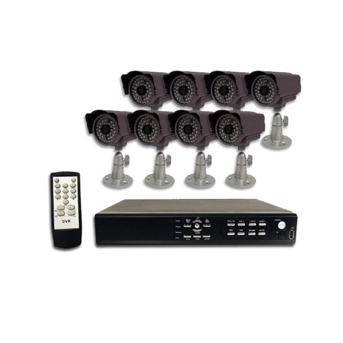 Astrotel Digital Video Recorder (DVR) 8 Camera System with Internet Remote Access Capability Part # DVR-N8I