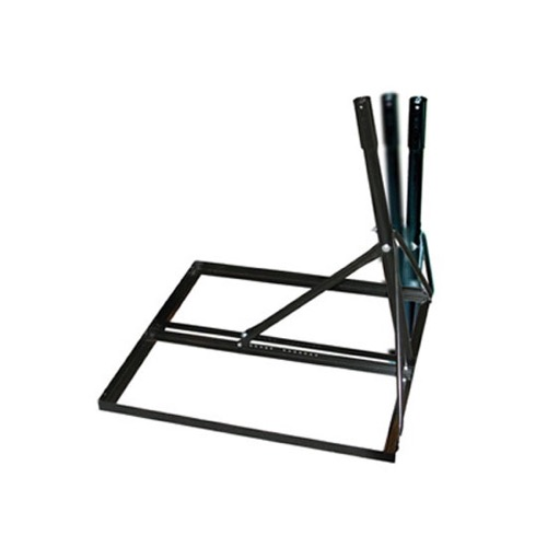 "Perfect Vision NPR6B Non Penetrating Mount with 1.75"" and 2"" Inch Mast Adjustable for SlimLine and Satellite Dish Antenna Steel Powder Coated Frame Base Roof Slim Line Mount, Part # NPR-6B"
