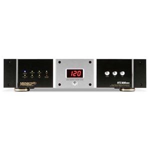 Monster Cable HTS 3600 MKll PowerCenter Rack Mountable MP HTS3600 MKII Clean Power Center Conditioner Surge Protector Console, Stage 3 Tri-Mode 6500 Joules Suppressor with 10 Color Coded Outlets, Part # MP HTS3600 MKII