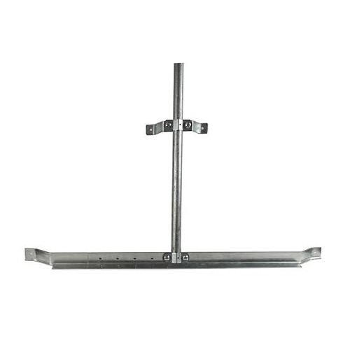 "Adjustable Eave Mount Antenna Mast Channel Master 9030 Type Eave Gable Mount 45"" - 60"" Bracket Support Fits 1 1/4"" to 2"" OD Pipe Outdoor Off-Air TV Aerial Stand-Off Kit, Part # CM-9030"