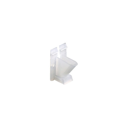Steren 200-954CL Vertical Vinyl Siding Cable Clips 100 Pack Clear Coaxial Home Exterior TV Video Signal Coaxial Line Aluminum Snap-In Support Fastener RG59 RG6, Part # 200954-CL