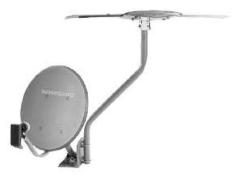 Winegard DS-1000 Antenna Mount Off-Air Satellite Universal Home TV Base DS1000 Universal Mounting Support, Signal Outdoor Offset Rooftop Adapter, Part # DS-1000