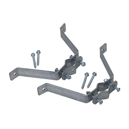 Eagle EZ30-4 W-Type Antenna Mast Wall Mount Heavy Duty Bracket One Pair