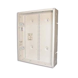 "Open House H318 18"" Inch Structured Wire Enclosure Box 14"" x 18"" Durable Steel Construction 16 GA with Mounting Grid Adjustable Ears Home Video Hub Master Junction Box for Home AV Telephone Data Distribution Systems, Part # H318"