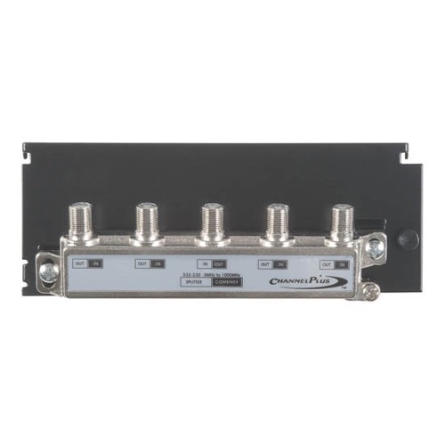 Linear H804 4-Way Balanced Splitter / Combiner Hub CATV Antenna Linear HDTV Grid Mounted Distribution Hub, Distributes Signals to 4 Locations with its High Quality On-Board Splitter, Part # H-804