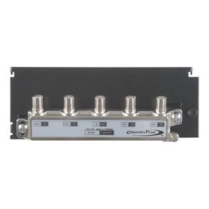 Channel Plus Linear H804 4-Way Balanced Splitter / Combiner Hub CATV Antenna HDTV Grid Mounted Distribution Hub, Distributes Signals to 4 Locations with its High Quality On-Board Splitter, Part # H-804