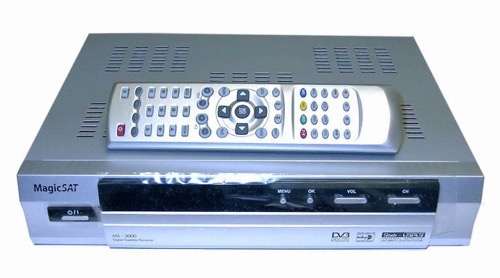 MVIDEA FS-4000 FTA Satellite Dish Receiver Coolsat, Pansat, Viewsat, Fortec, Programmable DSS DBS World Networks, DVB and MPEG-2 Compliant, Free-to-Air Reception, Ethnic and International Channel Capability, Part # MVIDEA FS4000