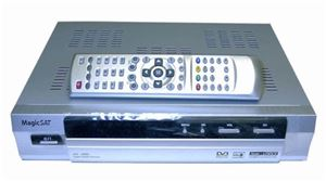 REX-1 FTA Satellite Dish Receiver Programmable Digital DSS DBS World Networks, DVB and MPEG-2 Compliant, Free-to-Air Reception, Ethnic and International Channel Capability, Part # REX1