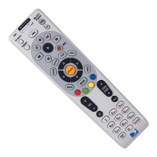 DirecTV RC66RX Remote Control Universal 4 Component IR / RF, Part # RMRC66