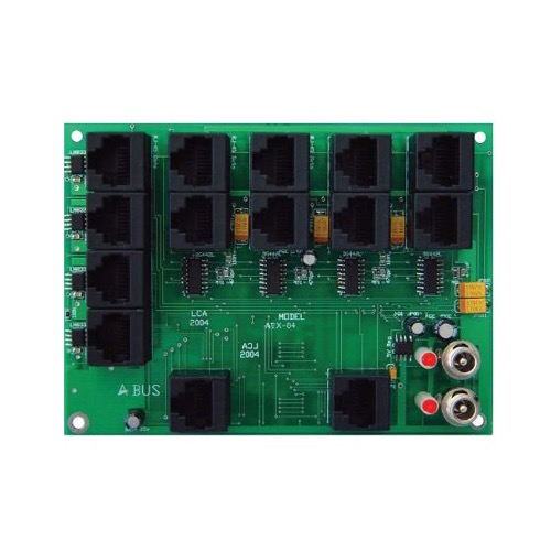 Forte by Steren ABX-84P 4-input 4-zone switching Hub A-BUS Ready Inputs