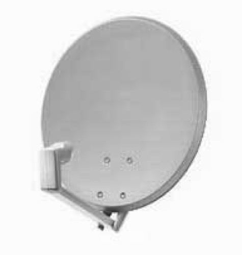"DIRECTV 18"" Inch Satellite Dish Antenna with J-Mount and Single LNB HDTV Digital Rectangle Tube Feed  Dish Network DBS DSS Receiver System and Rooftop Mounting Assembly"