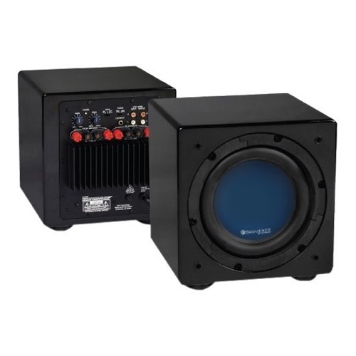 "Sequence 730-405BK Premier Subwoofer System Front Fire 8"" Inch 150 Watts, Black, by Steren"