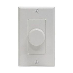 Steren 730-510 Rotary Speaker Volume Control with 3 Color Plate Options 80 Watt Wall Plates Sequence And Knobs Included