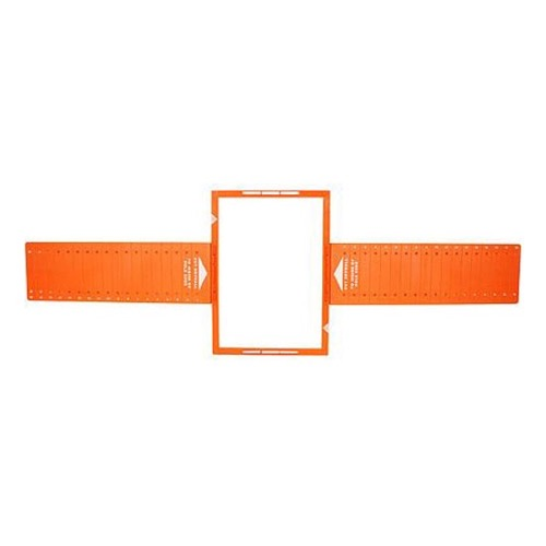 "Sequence 730-561 6 1/2"" In-Wall Speaker Rough in Kit Rectangular One Pair for New Construction By Steren"