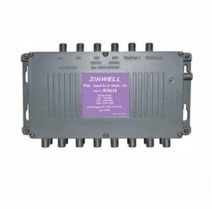 Terk MS-WB616 6x16 Satellite Dish Multi-Switch Splitter Receiver DirecTV Antenna, Zinwell S-2060RPGX Replacement Multiswitch, 950 - 2050 MHz, Part # MS-WB-616