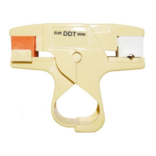 PCT CM PREP Coaxial Cable Stripper Mini RG59 RG6 Pro Grade Cable Mini Stripper Tool for RG-6, RG-59 Coax Cable Adjustable Size for F Connector Install Prep, Part # CMPREP