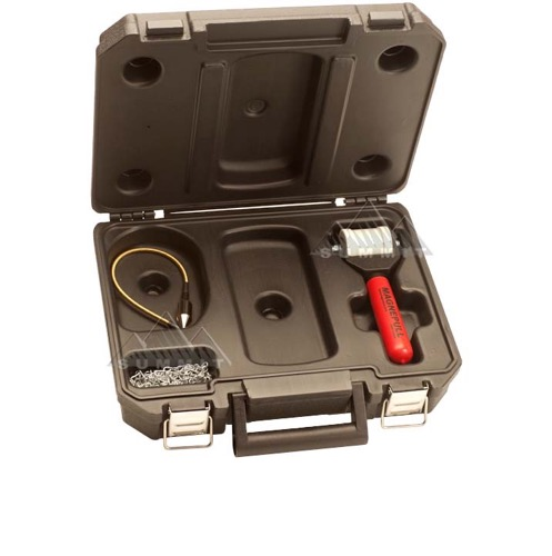 MAGNEPULL 800A-KC Cable Retrieval and Wall Fish Installation System Kit with Case, Magnetic Coax Line Wall Feed Puller, Cord Installation Through Drywall Tool, Part # 800AKC