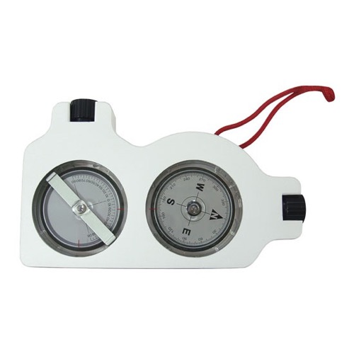 Steren 203-661 Inclinometer & Compass Satellite Angle Finder Tool Aluminium Suunto Tandem Type Survey Tool 203-661-DISH