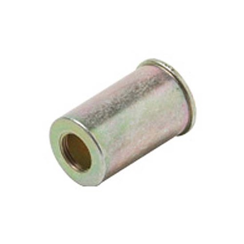 "Steren 200-968 Security Shield 1 1/8"" Die Cast Metal Slip-On 5/8"" Diameter Blocks Tampering with F-Connectors Nickel Plated Brass, Part # 200968"