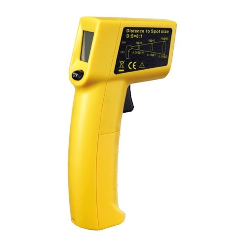 Sperry IRT200 GB Gardner Bender Temp Check Gun Style Infrared Thermometer Non-Contact Grip Type Thermometer with Laser Pointer Guide Accuracy -31 to 689 Degrees F, -35 to 365 Degrees C Temperature Meter, Part # IRT-200