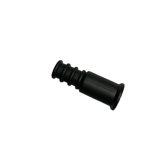 Steren 200-976BK Weather Boot Coaxial Connector RG59 RG6 Black Outdoor 1 Pack Single Moisture Water Tight Rubber Boot RG-59 RG-6 Coax Cable End Over Boot Cover, Part # 200976-BK