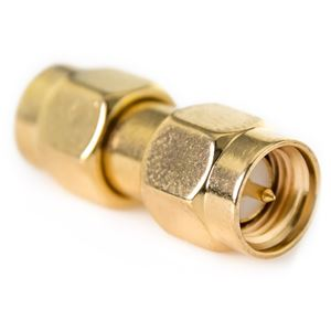 DHT Gold SMA-71 SMA Male to SMA Male Connector Couple Adapter